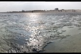 at low tide: Flattened Panorama #2
